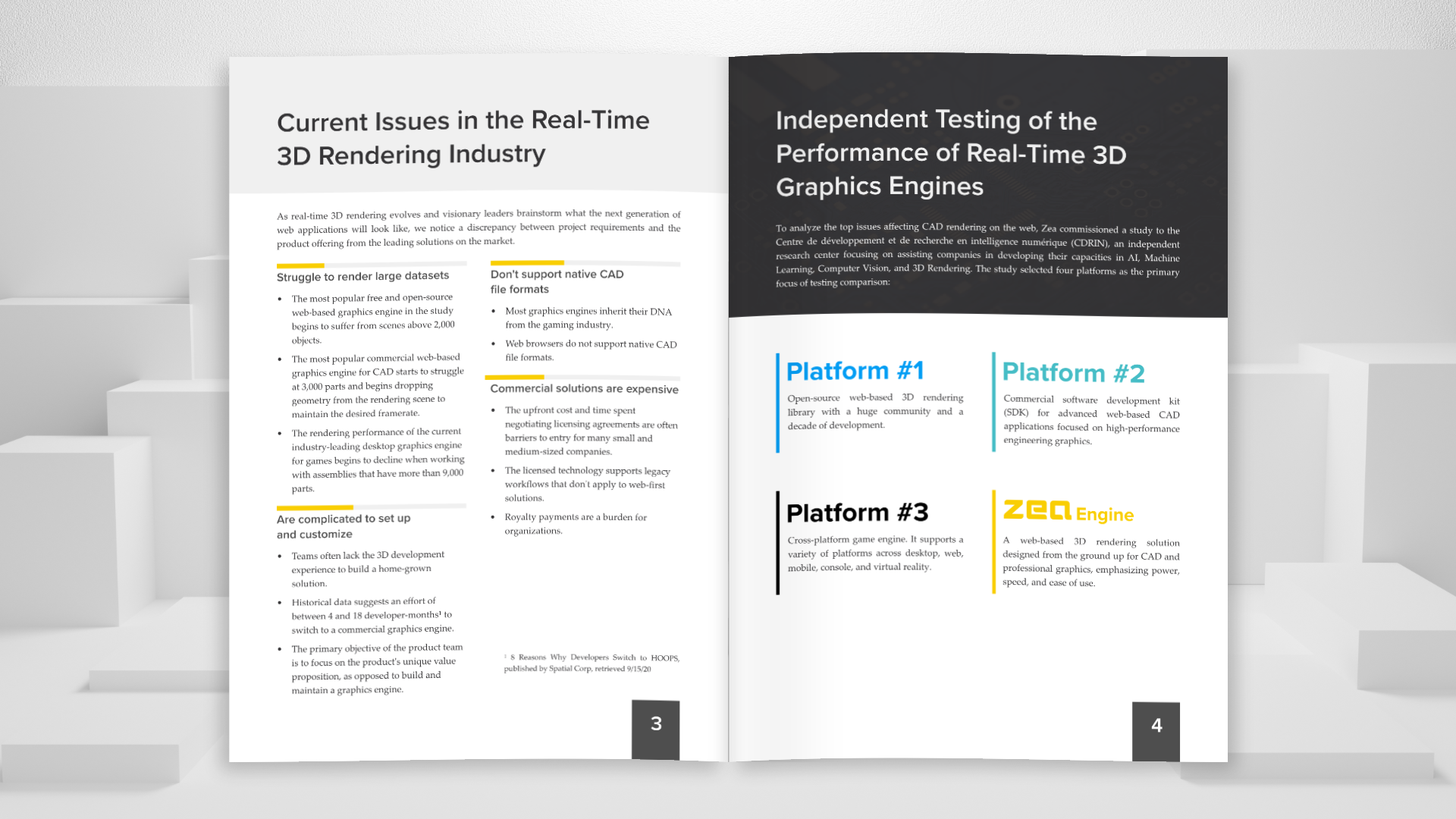 CAD Visualization Performance on the Web-2021 Benchmark Report | Zea Engine