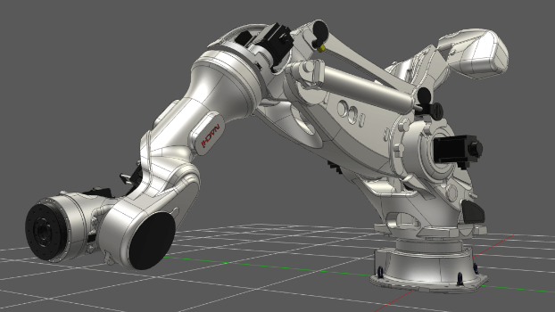 Industrial Robotics: Palletizer & Pallet Handling Simulation